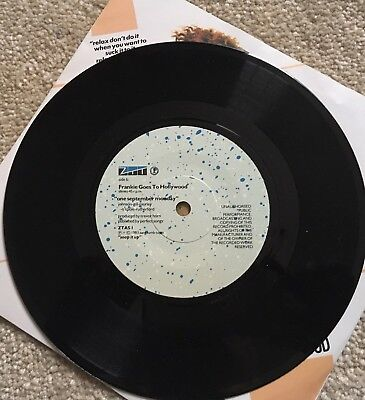 "Frankie Goes to Hollywood   'Relax '  7"" Hit Single"