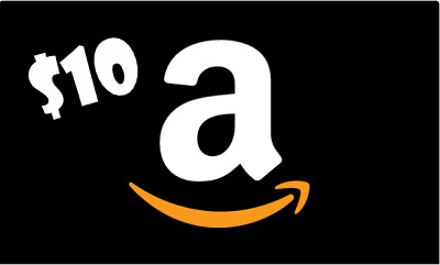 $10 Amazon Gift Card - ONE DAY DELIVERY