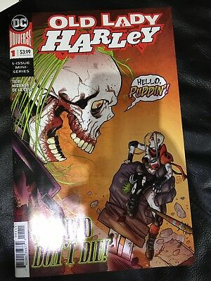 Brand new DC comics OLD LADY HARLEY  #1 Adults new series 2018 universe