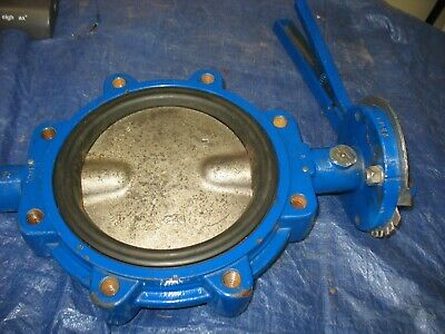 """Grinnell LC-8201-3 Series 8000 250wp  8"""" Butterfly Valve"""