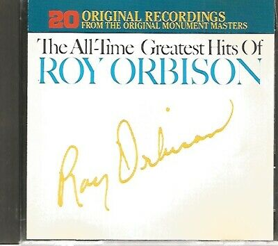 ROY ORBISON - The All-Time Greatest Hits - Volumes 1 & 2 on ONE CD - Very Good+