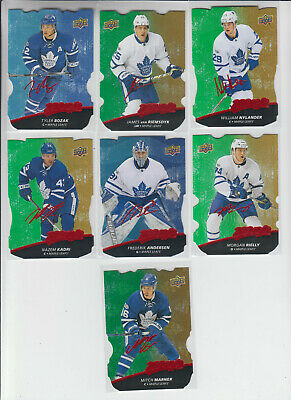 17/18 UD MVP Toronto Maple Leafs Nazem Kadri Colors & Contours L1 Gold card #19