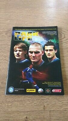 Cardiff City v West Bromwich Albion Aug 2006 Football Programme