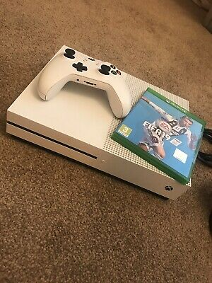 Microsoft Xbox One S 1TB Console- White With FIFA 19