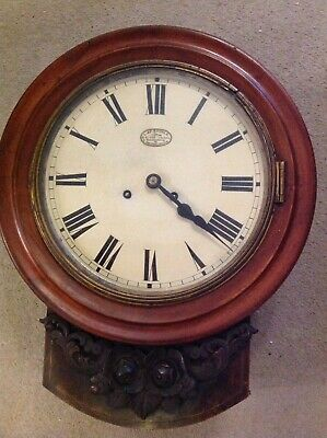 Antique 19th Century Victoria Wall clock By L&F Baurle From England