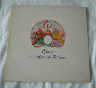 QUEEN    A NIGHT AT THE OPERA   LP     -2/-2   BLAIRS   Embossed original press