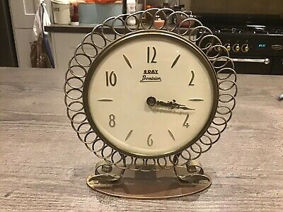 Vintage Smiths  Clock , 8 Day Floating Balance Art Deco