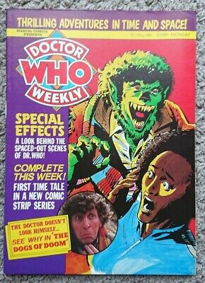 Doctor Who Weekly Magazine #30 May 7th 1980 Special Effects UK Marvel