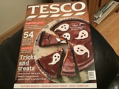 Tesco Shops  Magazine October 2018 Great Halloween Ideas, Food And Decorations
