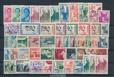 [G43190] Morocco Good lot Very Fine MNH stamps