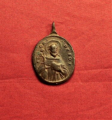 Late Medieval Religious Holy Medal - 17-18. Century
