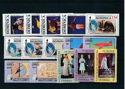 [15697] Dominica : Good Lot of Very Fine MNH Stamps