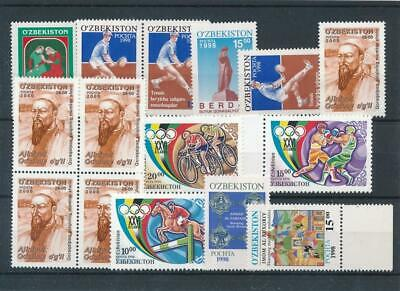 [16010] Uzbekistan : Good Lot of Very Fine MNH Stamps