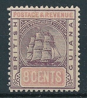 [51377] British Guiana 1889 good MH Very Fine stamp