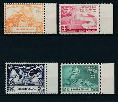 [51379] British Guiana 1949 UPU good set MNH Very Fine stamps