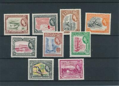 [51383] British Guiana 1963-66 good set MNH Very Fine stamps $55