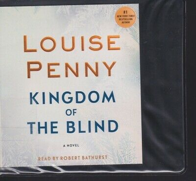 KINGDOM OF THE BLIND by LOUISE PENNY ~UNABRIDGED CD AUDIOBOOK