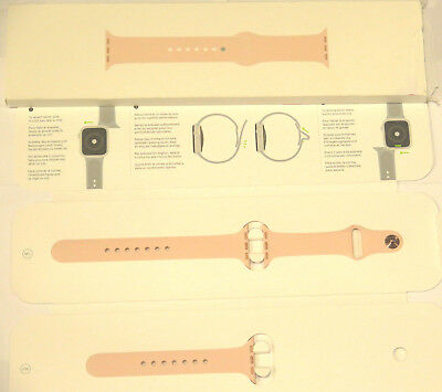 Apple Sport Band for Apple Watch 4 40mm Pink Sand MTP72AM/A OPEN BOX