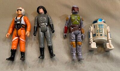 Four Different Old Star Wars Figures II