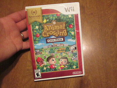 Welcome To Animal Crossing City Folk Nintendo Wii Selects Us Edition Sealed