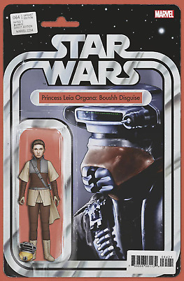 STAR WARS #64 CHRISTOPHER ACTION FIGURE VARIANT Princess Leia Boushh  - 4/3/19