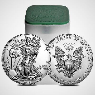 2015 American Silver Eagle BU 1 oz Coin US $1 Dollar Uncirculated Brilliant *215