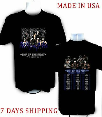 Limited !!! Neu KISS band End of the Road Farewell Tour 2019 T Shirt S-5XL