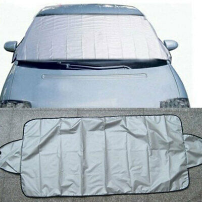 Car Windscreen Windshield Front Glass Sun Shade Cover Snow Frost Dust Prot WDV