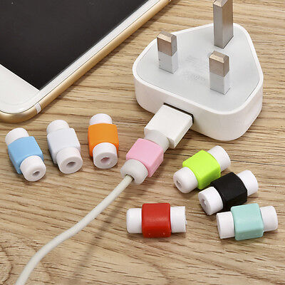 10X Emoji Charger USB Cable Saver Protector For Apple iPhone Random Color #AM5