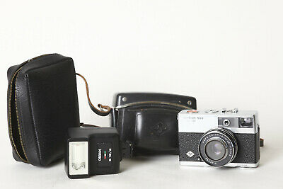 Agfa Optima 500 Sensor and Attachable Flash Osram B 18/2 with Bags (111370)