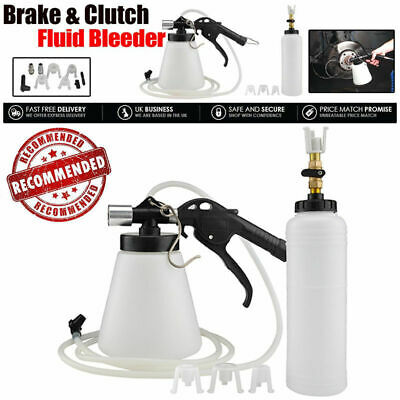 1.75L Pneumatic Brake Fluid Bleeder Car Air Extractor Clutch Oil Bleeding