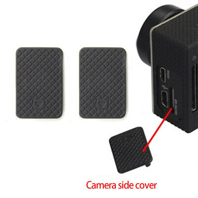 2x Side Cover Replacement Side Door Cover Case Repair For GoPro HERO 4/3+/3