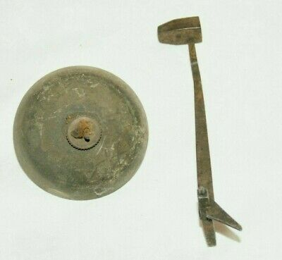 Large Antique Clock Hammer & Bell, Spares/Repair