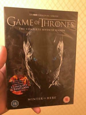 Game of Thrones Season 7 Full Series 7 Brand new and sealed Region 2