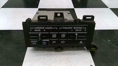 1987-89 Cadillac Allante Interior Headlight Panel Light Twilight Sentinel Switch