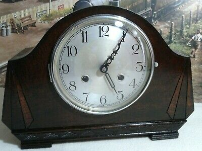 Art Deco style Mantle clock in excellent restored condition