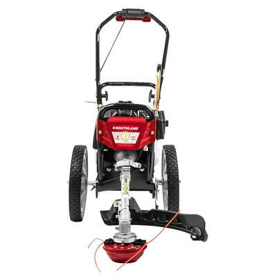 Southland Swstm4317 Adjule Gas Ed Wheeled String Trimmer Lawn Mower