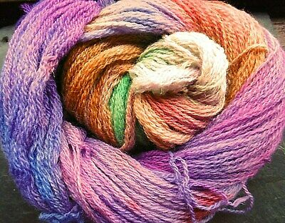Yarn BFL British Wool 4ply Sock Northern Lights Elvincrafts Hand Dyed