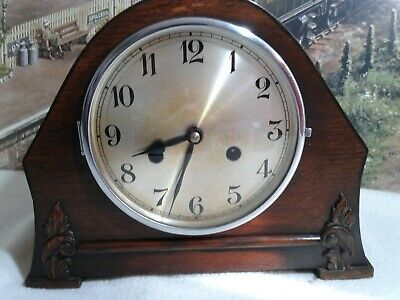Decorative  Mantle clock with Smiths En Movement in excellent restored condition