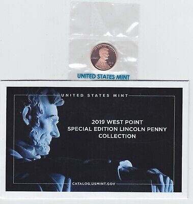 2019 W Lincoln Penny Preminum PROOF West Point Struck NEW PRESALE march 2