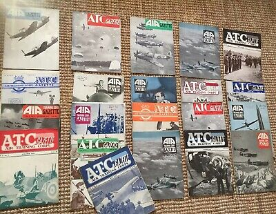 WW2 Magazines Air Training Corps Magazines 1941-43..21 Issues