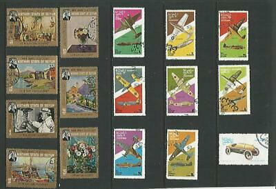 y7643 Mixed Arab States Thematic's Mixed A Small Collection Early & Modern Used