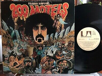 Frank Zappa ~ 200 Motels ~ 1971 1st Press ~ 1/4/2/3 matrix ~ 2 LPs=EX | Cover=EX
