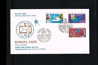 [JQ079] 1979 - Europe CEPT FDC Turkish-Cyprus