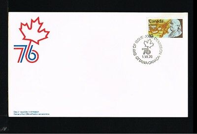 [EH032] 1976 - Canada FDC - Expeditions