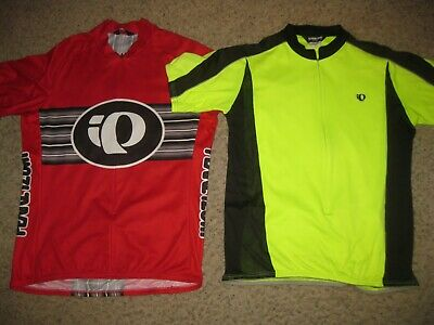 fbd147ff6 2-Lot of Pearl Izumi Men s Cycling Jerseys XL Bike Bicycle Running Workout  Gym