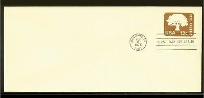 [NL068_04] 1975 - USA FDC - 13c imprint - Liberty tree