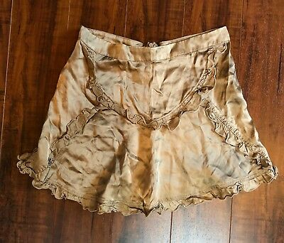 Clothing, Shoes & Accessories Class Roberto Cavalli Genuine Suede Skirt 42 4 S