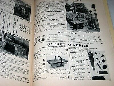1957 Catalogue SUTTON & SONS READING Garden Tools SEEDS