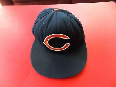 74627ad03a0 Mitchell   Ness Vintage NFL Chicago Bears Football Fitted cap Size 7